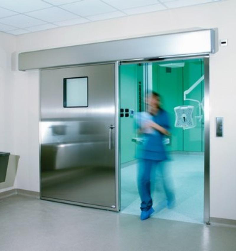 Sistemi di ingresso a tenuta ermetica per il settore ospedaliero | TAGEDIL